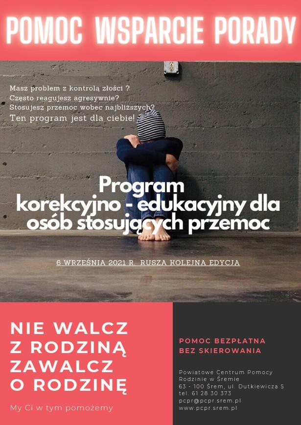 Program korekcyjno - edukacyjny zaproszenie